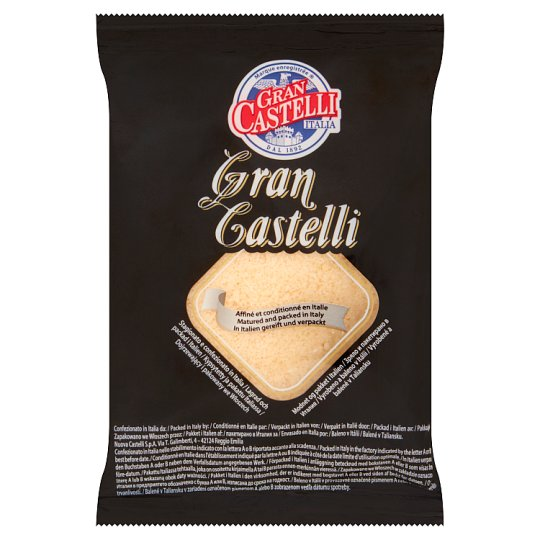 Gran Castelli Extra Hard Semi-Fat Cheese - Grated 50 g