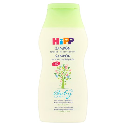 HiPP Babysanft Sensitive šampón pre citlivú pokožku 200 ml