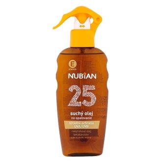 Nubian Suchý olej na opaľovanie SPF 25 200 ml