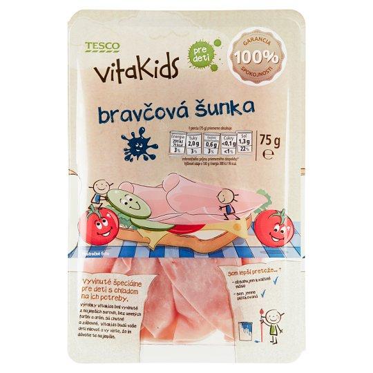 Tesco Goodness Vitakids bravčová šunka pre deti 75 g