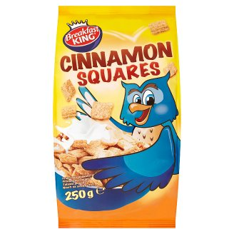 Breakfast King Cinnamon Squares 250 g