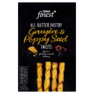 Tesco Finest All Butter Pastry Gruyère & Poppy Seed Twists 125 g