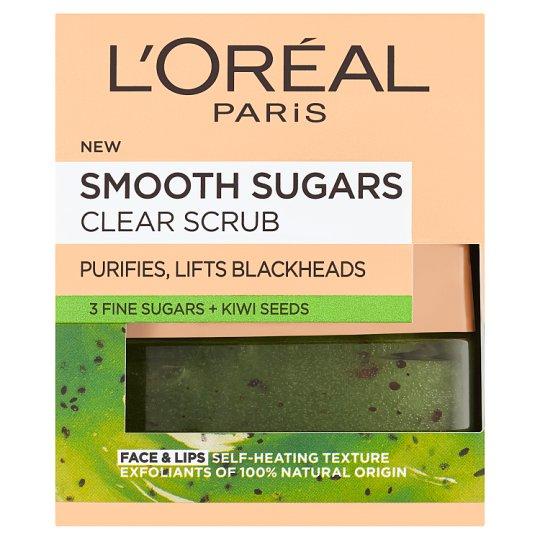 L'Oréal Paris Jemný čistiaci cukrový scrub 50 ml