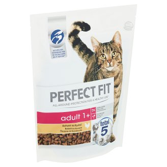 Perfect Fit Adult 1+ Complete Food for Adult Cats Chicken 750 g