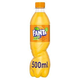Fanta, pomarančová limonáda, 500 ml