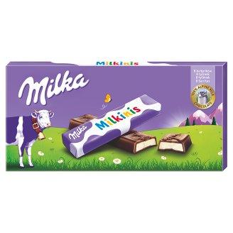 Milka Milkinis tyčinky z mliečnej čokolády z alpského mlieka s mliečnou náplňou 87,5 g