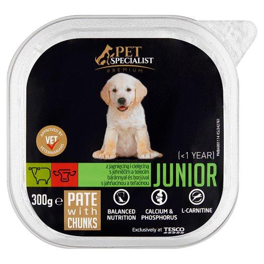 Tesco Pet Specialist Premium Junior Pate with Lamb and Calf 300 g