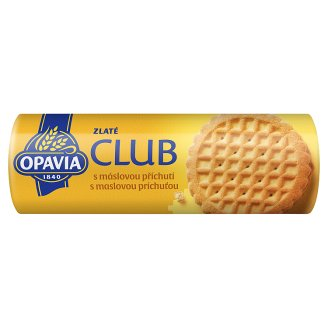 Opavia Zlaté Club Cookies with Butter Flavour 140 g