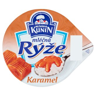 Mlékárna Kunín Milk Rice Caramel 150 g