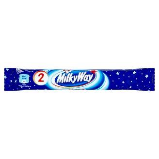 Milky Way Duo čokoládové tyčinky s náplňou zo šľahaného mliečneho krému 2 x 21,5 g