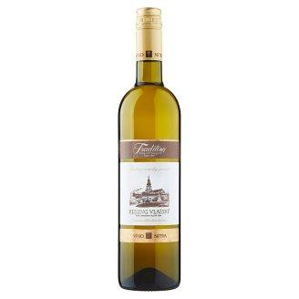 Víno Nitra Tradition Rizling Vlašský slovenské regionálne odrodové víno biele suché 0,75 l