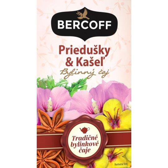 Bercoff Klember Herbal Priedušky & kašeľ bylinný čaj 20 x 1,5 g