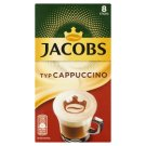 Jacobs Cappuccino Flavoured Soluble Blend 8 x 14.4 g