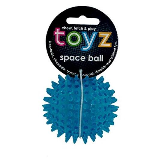 Petface Toyz Space Ball Small Blue