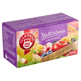 TEEKANNE Multivitamin, World of Fruits, 20 Tea Bags, 50 g