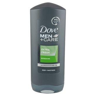 Dove Men+Care Extra fresh sprchovací gél na telo a tvár pre mužov 400 ml