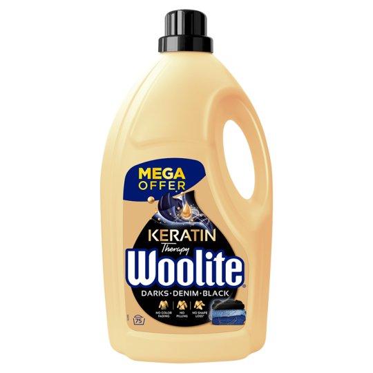 Woolite Darks, Black, Denim tekutý prací prípravok 75 praní 4,5 l