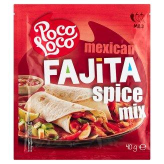 Poco Loco Fajita mix korenia 40 g