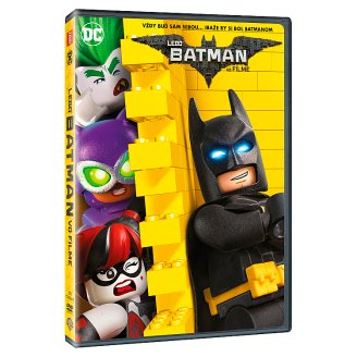 DVD LEGO Batman vo filme