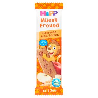 HiPP Organic Muesli Bar Apple-Peach 20 g