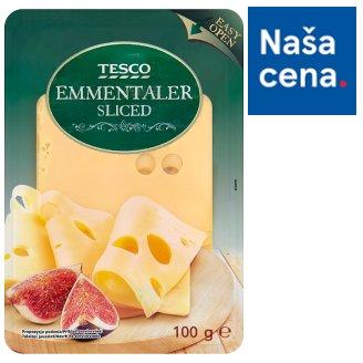 Tesco Emmentaler Sliced 100 g