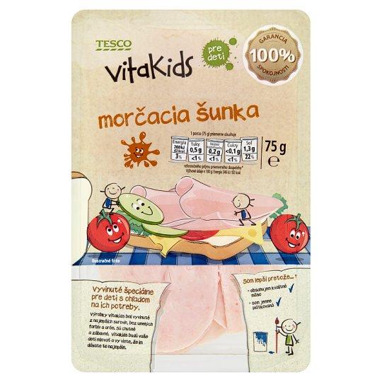 Tesco Goodness Vitakids morčacia šunka pre deti 75 g