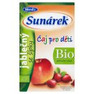 Sunárek Bio ovocný čaj jablkový so šípkami 20 x 1,5 g