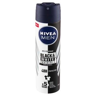 Nivea Men Black & White Invisible Original Antiperspirant Spray 150 ml
