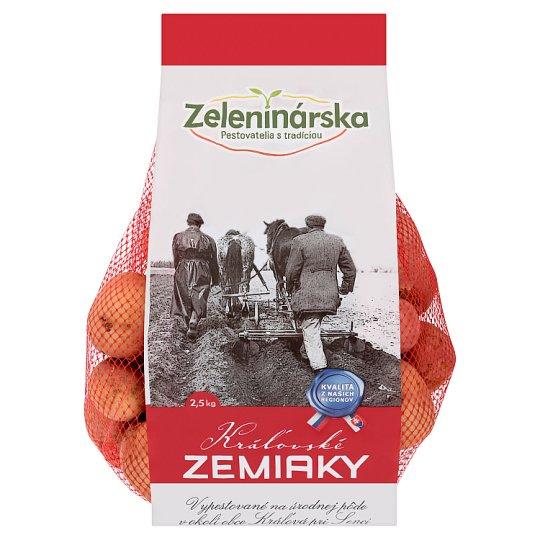 Zeleninárska Kráľovské zemiaky červené 2,5 kg