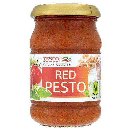 Tesco Italian Quality Pesto studená omáčka s paradajkami 190 g