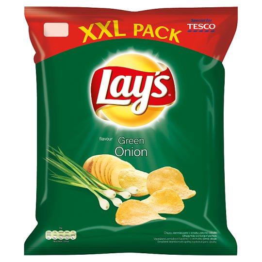 Lay's XXL vyprážané zemiakové lupienky s príchuťou jarnej cibule 240 g