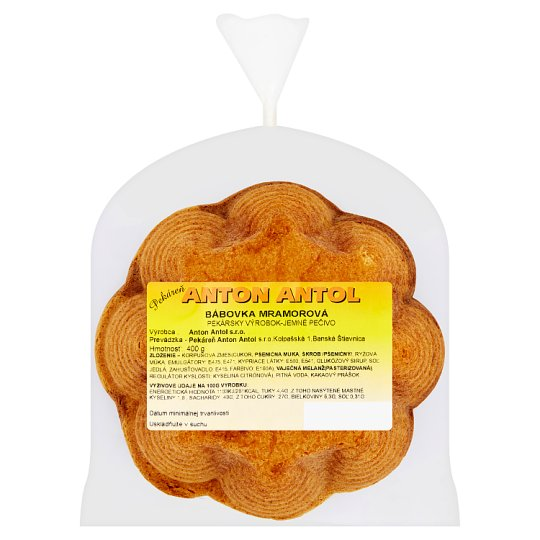 Pekáreň Anton Antol Marble Cake 400 g