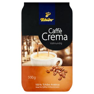 Tchibo Caffè Crema Vollmundig Roasted Coffee Beans 500 g