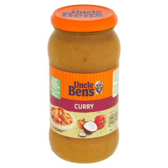 Uncle Ben's Curry omáčka s korením a kokosom 440 g