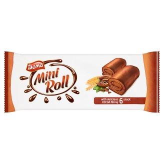 Doma Mini roláda s kakaovou náplňou máčaná v kakaovej poleve 6 x 32 g