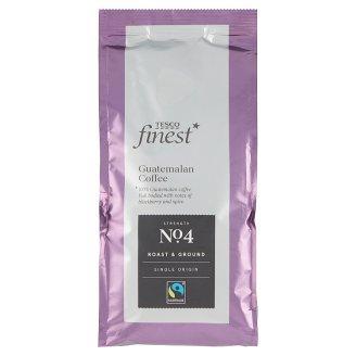 Tesco Finest Pražená mletá káva 227 g