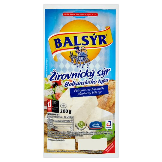 Balsýr Žirovnícky Cheese Balkan Type 200 g