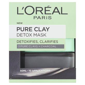 L'Oréal Paris Pure Clay intenzívna čistiaca maska 50 ml