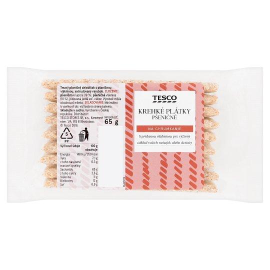 Tesco Crisp Wheat Slices 65 g