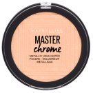 Maybelline New York Master Chrome 050 Molten Rose Gold Highlighter Poudre 9 g