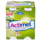 Danone Actimel Yoghurt Milk with Lime and Yuzu 4 x 100 g
