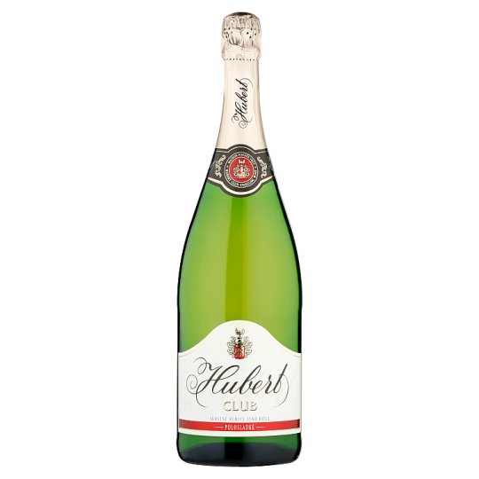 Hubert Club Quality Sparkling Sweet White Wine 0.75 L