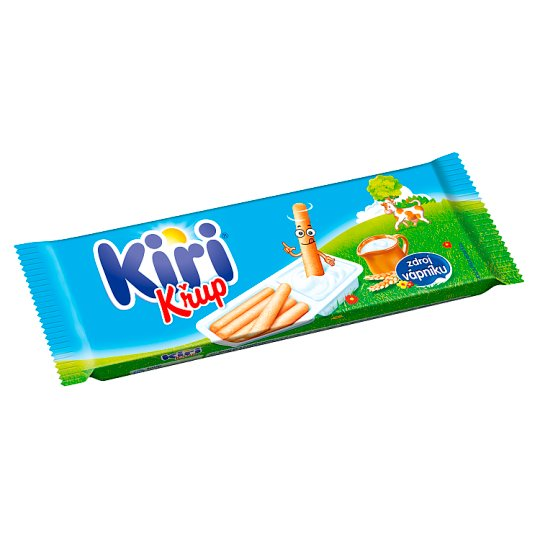 Kiri Křup Spreadable Processed Cheese and Biscuit 35 g