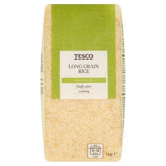 Tesco Predvarená dlhozrnná ryža lúpaná 1 kg