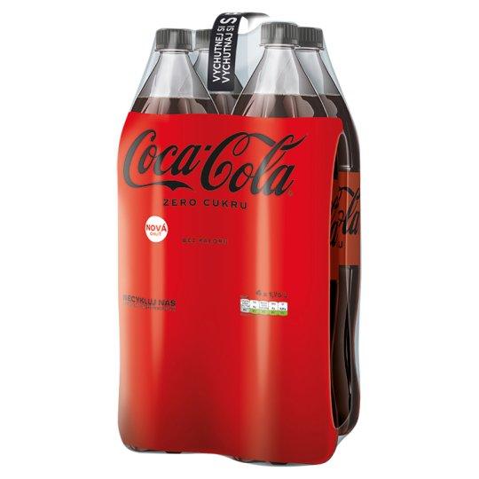 Coca-Cola Zero, 4 x 1,75 l