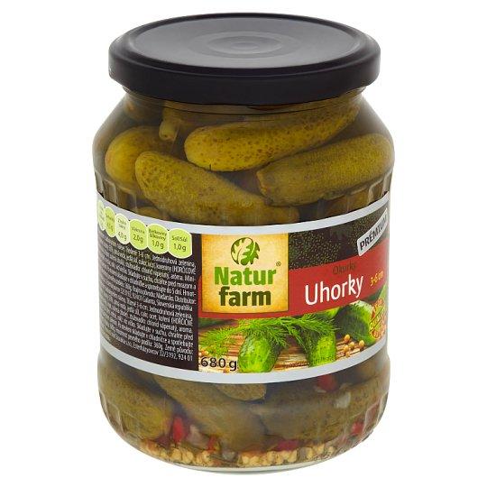 Natur Farm Cucumbers 3-6 cm 680 g