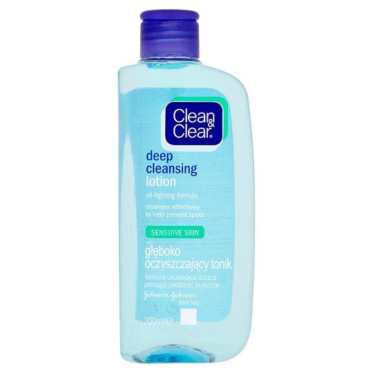 Clean & Clear Deep Cleansing Lotion Sensitive Skin 200 ml
