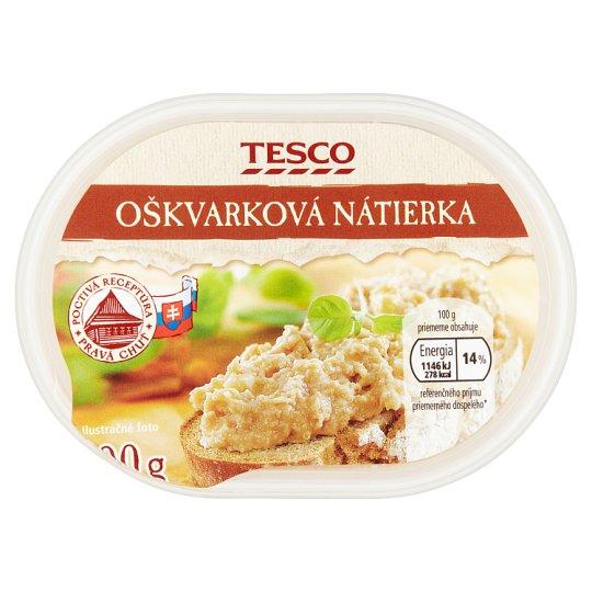 Tesco Oškvarková nátierka 100 g