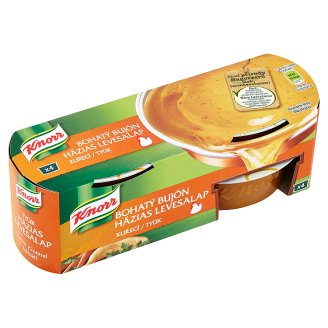 Knorr Bohatý Bujón Chicken Broth 4 x 28 g