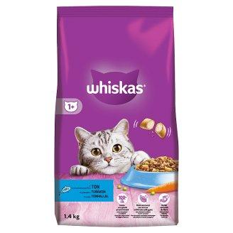 Whiskas 1+ granule s tuniakom 1,4 kg